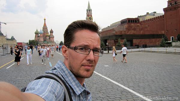 я через Москву полетел в свою родную Сибирь