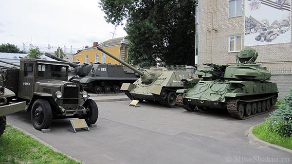 музей военной техники под открытым небом в Гомеле