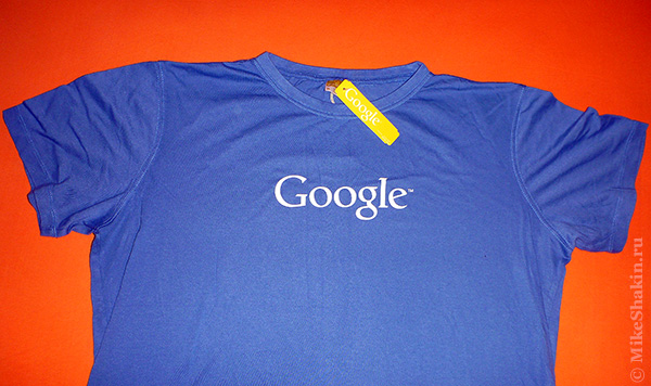 первая футболка